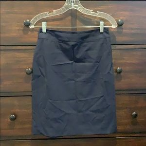 Banana Republic Navy Blue Suit Skirt